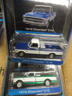 1972 Chevrolet C10 Pickup Truck With Tool Box Green Machine Set Chase