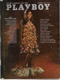 Playboy,December 1968,Gala Christmas Issue,Cynthia Myers, Girls of the