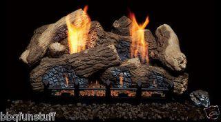 Natural Blaze Vent Free Propane Gas Log Set BO18   NB18PV Remote Ready