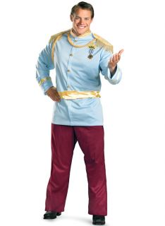 PRINCE CHARMING mens adult king cinderella plus XXL