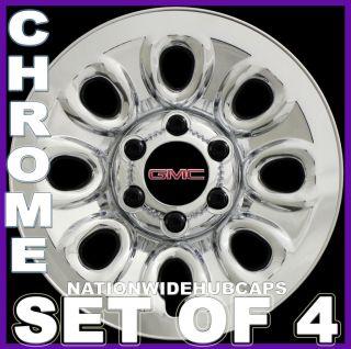 17 6 Lug Chrome Wheel Skins Simulators Rim Covers 8Hole Steel Wheels