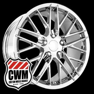 C6 ZR1 Replica Chrome Wheels Rims fit C5 1997 2004 (Fits Chevrolet