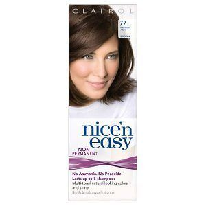 Clairol Nice N Easy Loving Care 77   Medium Ash Brown   UK Loving Care