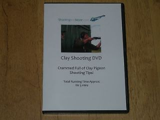 CLAY PIGEON SHOOTING VEST TIPS DVD JACKET LESSON TARGET