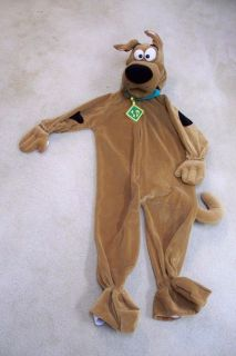 Scooby Doo Dog Halloween Costume Child Youth Small Rubies Plush