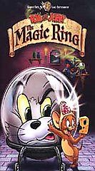 Tom and Jerry   The Magic Ring (VHS, 2002, Clamshell)