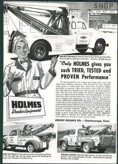 Holmes Wrecker Tow Trucks Herbrand Van Chrome Ratchet Socket Tool