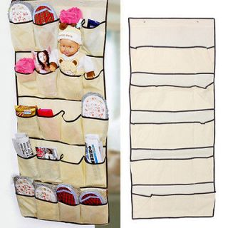 20 Pocket Door Shoe Storage Organizer Hanging Bag Closet Holder Hanger