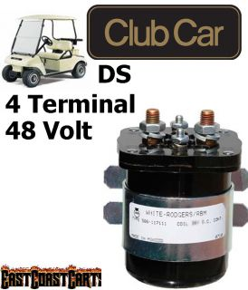 Club Car Golf Cart HEAVY DUTY 48 Volt, 4 Terminal #586 Series Solenoid