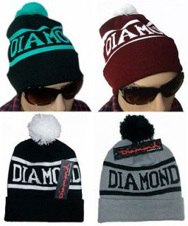 Hip Hop Unisex chic DIAMOND SUPPLY CO Beanie mens womens knit cap