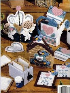 Kitchen Library 8 Cute Coaster Sets Clever Plastic Canvas Patterns