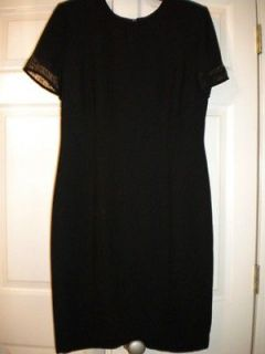 DONNA MORGAN BLACK COCKTAIL DRESS SIZE 12
