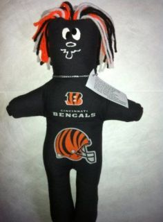 Cincinnati BENGALS Dammit Doll Frustration Stress NFL