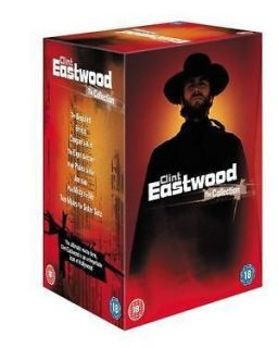 Clint Eastwood Collection 8 Movies DVD Box Set Region 2 Brand New