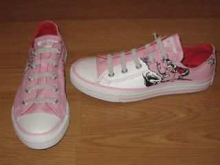 CONVERSE ALL STAR OX DR SEUSS CINDY LOU WHO GRINCH PINK WHITE INFANT