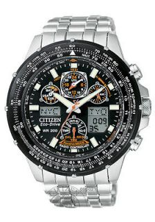 New Citizen Eco Drive Radio Control Skyhawk Watch JY0000 53E $650