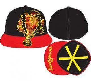 INSANE CLOWN POSSE Red Fire Demon Flat Brim Cap Hat NEW