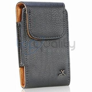 Newly listed Luxmo Premium Black Leather Pouch for Apple iPhone 5 LTE