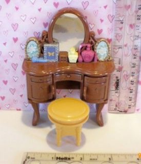 Newly listed Fisher Price Loving Family Dollhouse Moms MAKE UP VANITY