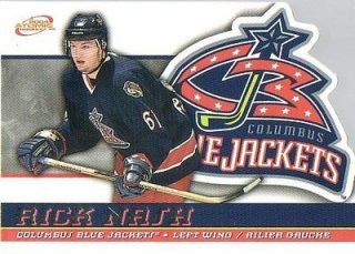listed 2003 04 McDonalds # 14   Rick Nash   Columbus Blue Jackets