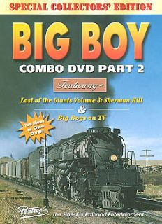 Big Boy Combo Part 2 DVD NEW Pentrex UP Last of the Giants on TV