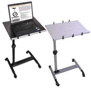 Laptop Adjustable Stand Desk Notebook Portable Table Overbed Cart