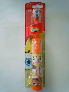 Kids Orange Colgate Nickelodeon SpongeBob Squarepants Spinbrush
