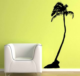 Large Coconut Palm Tree Wall Decor Vinyl Decal Sticker