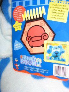 Blues Clues Room 2 in1 Joe AUTHENTIC REUSEABLE HANDY DANDY NOTEBOOK