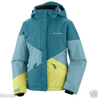 NEW COLUMBIA SKI JACKET GIRLS Crushed Out PARKA WINTER JACKET COAT