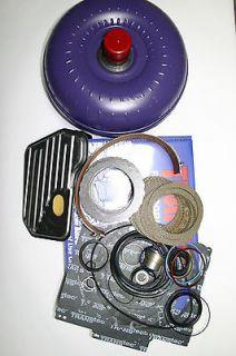 200 4R Rebuild Kit Torque Converter Transgo HD2 Shift Kit 2004R GM