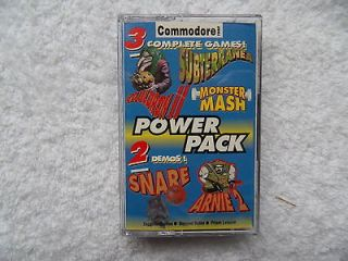 NEW * THE CF POWERPACK TAPE 31   COMMODORE C64 CASSETTE   MONSTER MASH