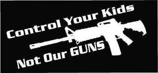 Newly listed NEW GUN CONTROL KIDS DECAL STICKER 2ND AMENDMENT S&W SIG