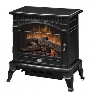 Dimplex Bronze 120V Traditional Freestanding Electric Stove Heater
