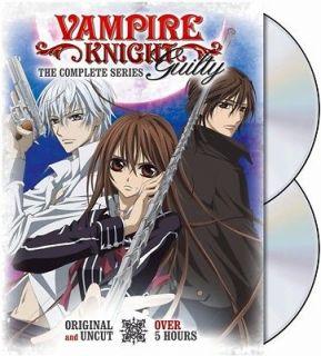 Vampire Knight Guilty Complete Series Box Set Anime DVD R1 Viz Media