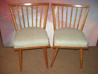 Mid Century Russel Wright Conant Ball Dining Chairs