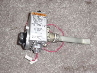 BRADFORD WHITE WATER HEATER NATURAL GAS VALVE MI40T6FBN