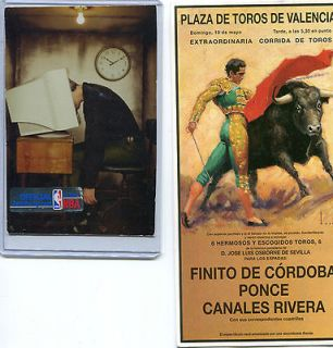 Spain Postcard​ Bull fighting with stamps Mailed to USA Corrida De