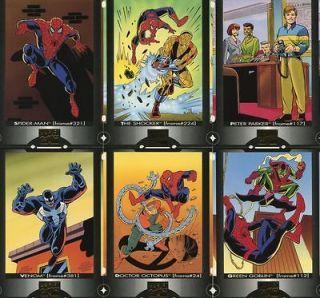Spider Man Cookie Crisp cereal   6 card base set (Ralston / Marvel