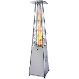 Radiance Stainless Steel Pyramid Outdoor Patio Heater   GRP4000SS
