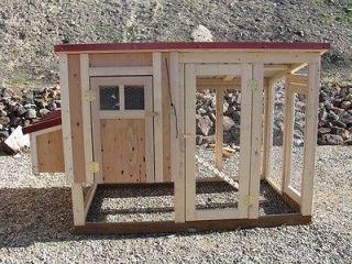 House / Chicken Coop Plans Easy DIY #90504G, Free Chicken Run Plans