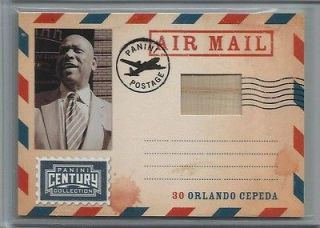 CEPEDA Panini Century Collection Air Mail Bat Card #d /250 T851