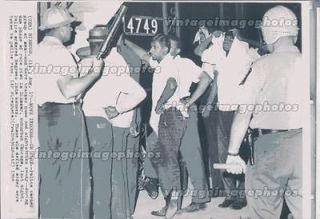 Newly listed 1964 Dixmoor IL Police Carry Men Teargas Nightstick Civil