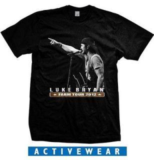 Luke Bryan Country Singer Farm Tour 2012 LB01 T Shirt size S 2XL