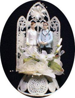 ALWAY Business Computer geek Wedding Cake Topper top