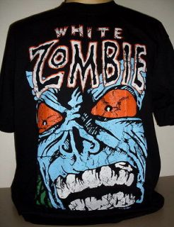 White Zombie Rob Zombie T Shirt Size S   3 XL new Metal Band