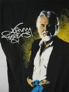 Vintage Kenny Rogers Country Band Concert TourTee T Shirt Shirt XL X