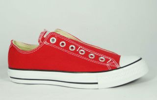 Converse Chuck Taylor All Star Slip Tomato Red Low Top Shoes