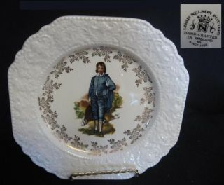 LORD NELSON POTTERY GAINSBOROUGH BLUE BOY CABINET PLATE