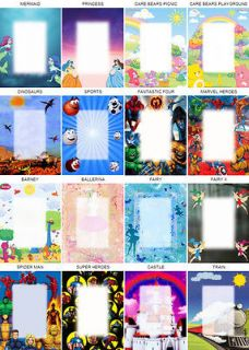 CARE BEARS Personalized MAGNET ~ANY NAME ~ 7Lx1.5W Flexible ~s1f j